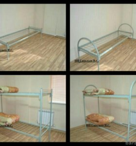 Кровати металлическин