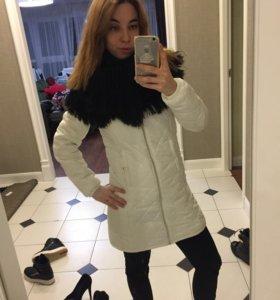 Куртка и шарф