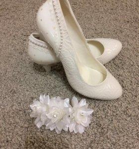 Туфли-заколка в подарок