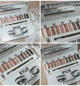 Матовые тени kyile nude make up
