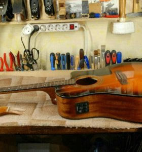 Отстройка, ремонт гитар