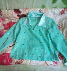 Рубашка блузка 40 р.