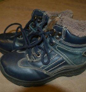 Теплые зимние ботиночки на мальчика 5 лет.