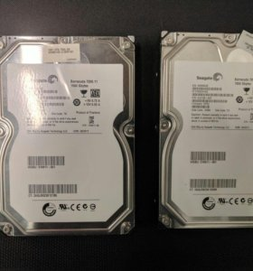 Seagate ST31500341AS - 2шт