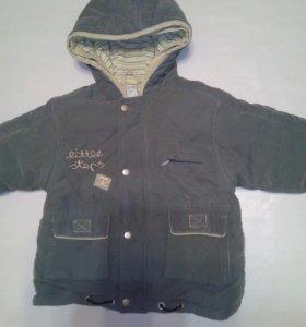 Куртка для мальчика,  рост 80- 86