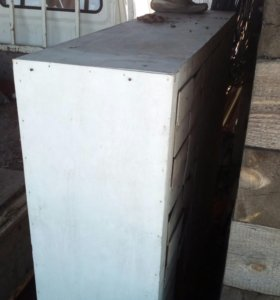 Шкаф с аыдвижными ящичками