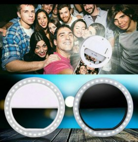 Светодиодное кольцо селфи