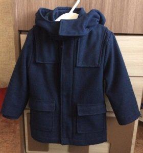 Пальто на мальчика 3-4 лет