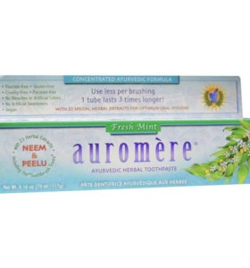 Зубная паста органическая