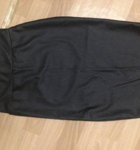 Кожаная юбка