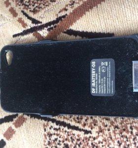 Чехол-батарея,чехол для iPhone 4s