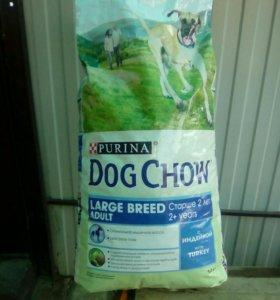 Корм для собак Dog Chow 14кг. С Индейкой