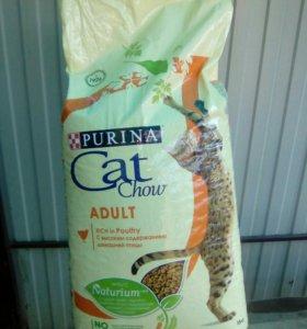 Корм для кошек Cat Chow 15кг.