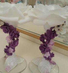 Свадебные бакалы для жениха и невесты