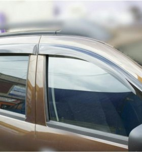Дефлекторы (ветровики) на Renault Duster 1 и 2