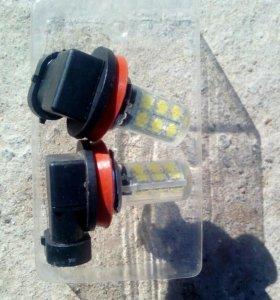 LED лампочки H11(противотуманки)