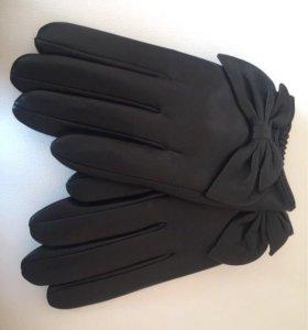 Перчатки новые из нат.кожи