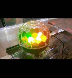 Светящийся шар с музыкой