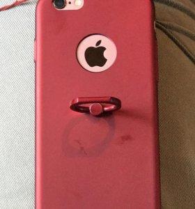 Чехол с кольцом для iPhone 6/6s