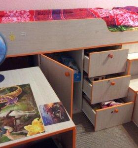 Кровать- чердак детская