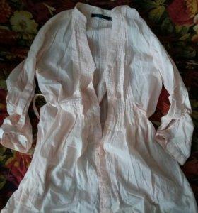 Рубашки футболки толстовки платья