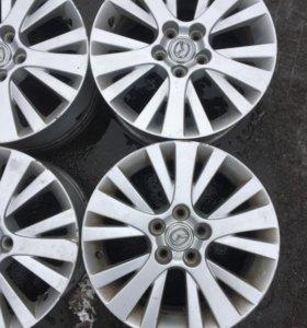 Оригинальные диски R17 Mazda 6. 5*114,3