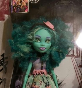 Кукла Monster High Хани Свомп Страх Камера Мотор