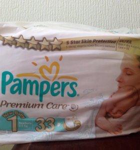 Подгузники Pampers (2-5 кг) 33 шт