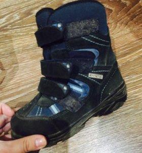 Непромокающие ботинки для мальчика