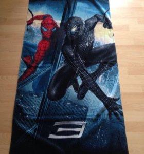 Полотенце с героями Дисней (человек- паук)