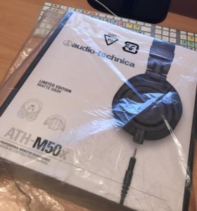 Audio-Technica ATH M50X Matt Grey