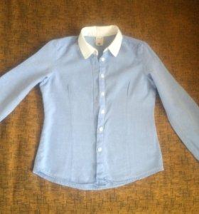Рубашка на девочку рост 122-128