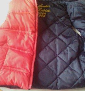 Жилет и пальто