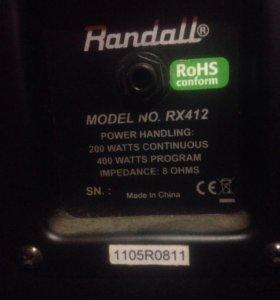 Гитарный кабинет Randall rx412