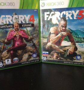 Farcry 3 и Farcry 4 Xbox 360 лицензия