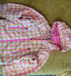 Новая куртка ветровка р.116