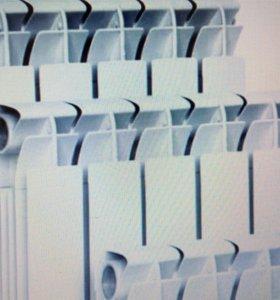 Радиатор 10 секций алюминиевый 80/500