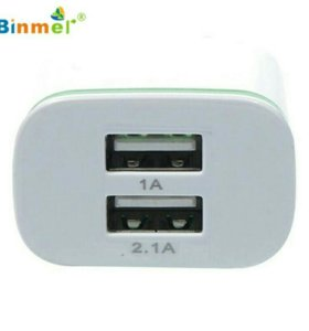 Блок питания на 2 входа USB