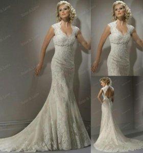 Свадебное платье новое(европа)