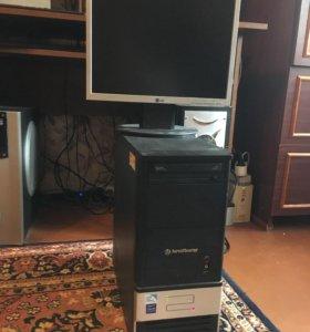 ПК Celeron Dual 2.6Ghz/2GbDDR3/80HDD