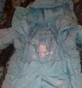 Комбинезон, куртка детская