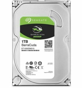 Жесткий диск Seagate 7200 BarraCuda ST1000DM010