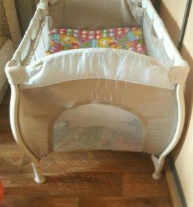 Кровать манеж Happy Baby