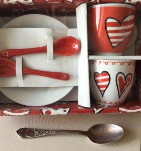 Кофейная пара (2 шт), подарочный набор