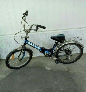 Велосипед похож на BMX