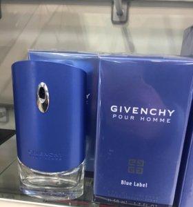 "Givenchy ""Pour Homme Blue Label"" 100 мл"