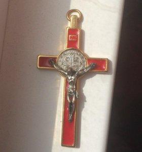 Крест украшение