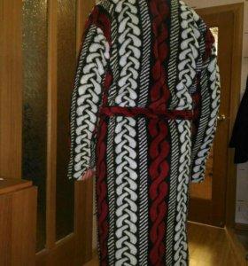 Махровый халат новый