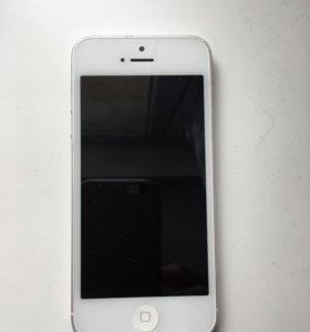 Дисплей айфона 5