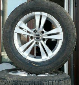 Bridgestone b250 205/65/r15 с дисками
